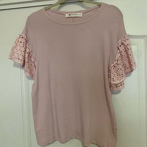 Impeccable Pig pink top